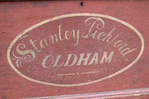 Victorian chest in original paint Stanley Pickford. Oldham