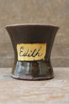 Slipware mug by Isaac Button of Halifax - Edith
