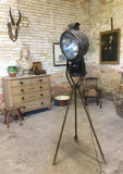 1940s Tilley spotlight on the original tripod