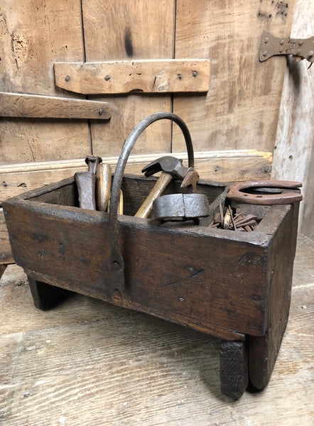 19th century farrier's work box