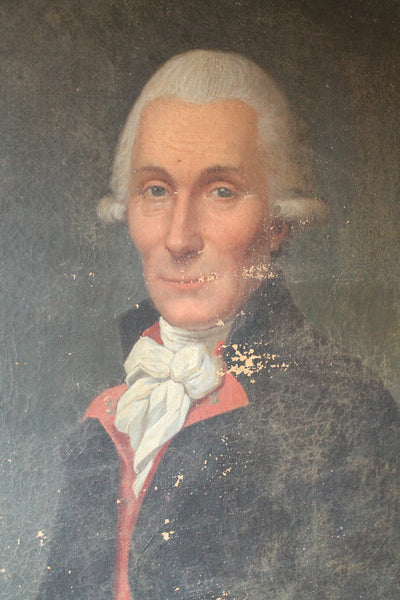 French school portrait of a gentleman c. 1800