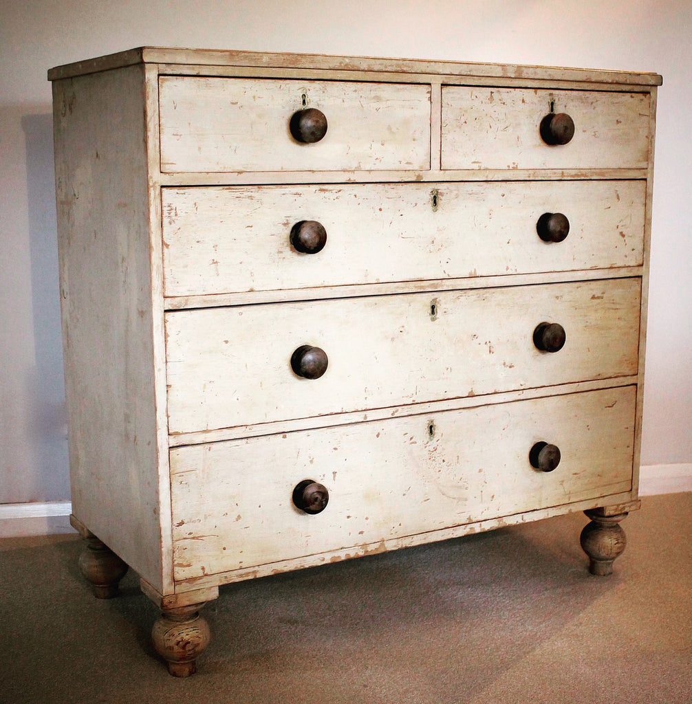 19thc English chest of drawers stamped 'Earl of Stamford'