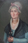 Early 19th century French school portrait of a lady