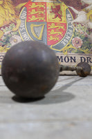 19th century strongman's dumbbells