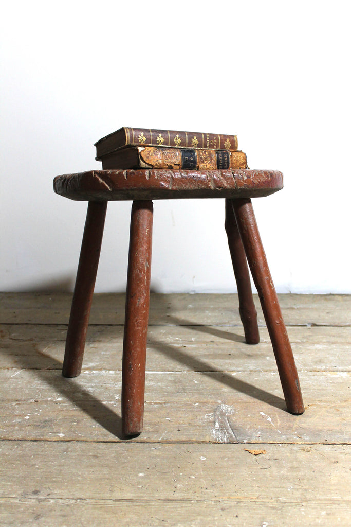 Early 19th century west country stool