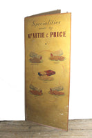 1930s original hand painted advertising board from a grocers