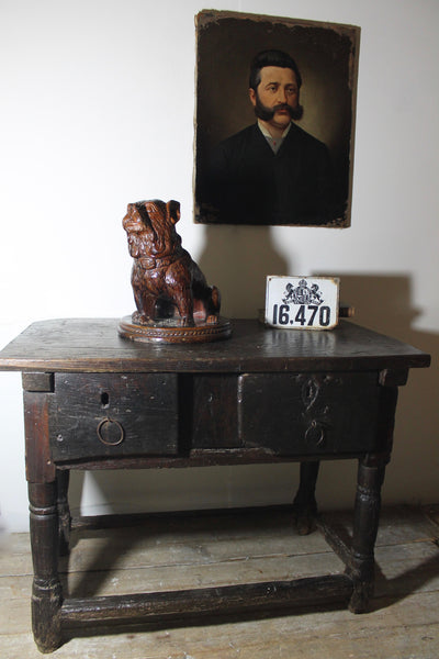 17th century provincial French side table