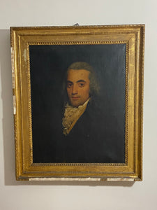 A very good late 18th century portrait of a gentleman c.1780