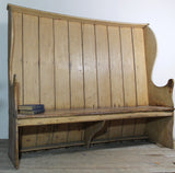 Early 19th century winged settle