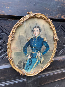 19th century portrait of a Royal Navy officer