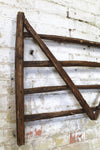 19th c fencing or hurdle trade sign
