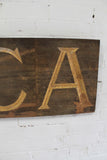 "Large 19th c shop sign ""CIRCA"""