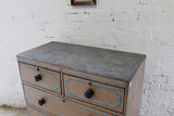 Regency chest of drawers in original paint c. 1825