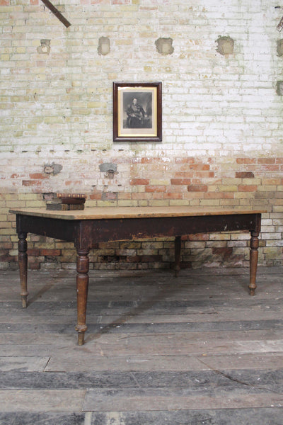 Victorian asylum laundry table