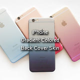 Gradient Colored Back Cover Skin for Iphone - Devilcase Philippines