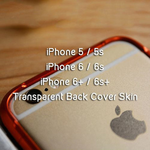 Transparent Back Cover Skin for Iphone - Devilcase Philippines