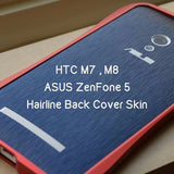 Hairline Back Cover Skin for Asus & HTC - Devilcase Philippines