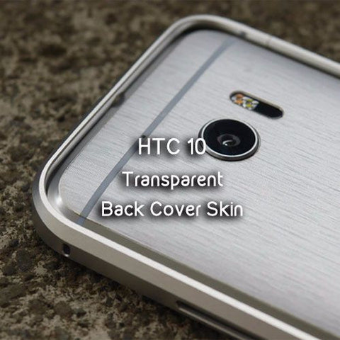 Transparent Back Cover Skin for HTC 10 - Devilcase Philippines