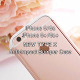 Iphone 7 | 7+ | 6 | 6S | 6+ | 6S+ New Type X Anti-Impact Bumper Case - Devilcase Philippines