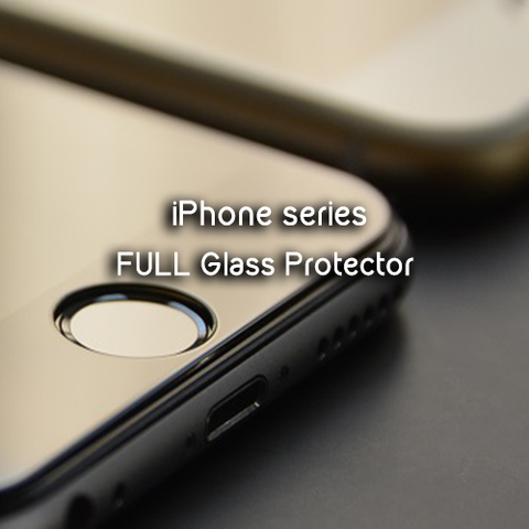 Apple iPhone 5 | 5S | SE | 6 | 6s | 6+ | 6s+ Full Glass Protector - Devilcase Philippines