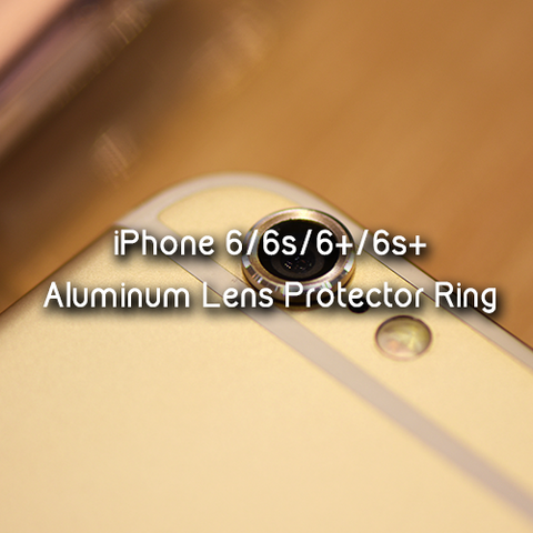 Aluminum Lens Protector Ring for Iphone 6 | 6S | 6+ | 6S+ - Devilcase Philippines