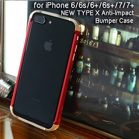 Iphone 7 | 7+ | 6 | 6S | 6+ | 6S+ New Type X Anti-Impact Bumper Case