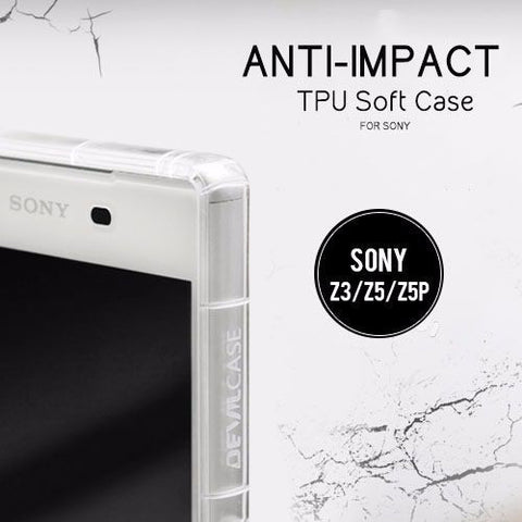 Anti-Impact TPU Soft Case for Sony Xperia Z3 | Z5 | Z5 Premium - Devilcase Philippines