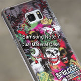 Anti-Impact Dual Material Case for Galaxy Note 7 - Devilcase Philippines