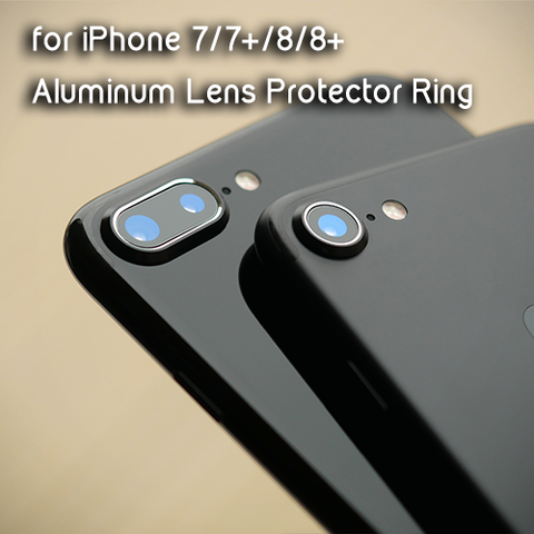 Aluminum Camera Lens Protector Ring for Iphone 7 | 8 | 7+ | 8+