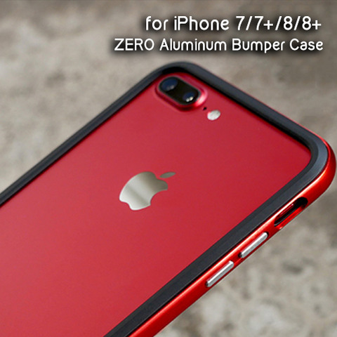 iPhone 7 | 8 | 7+ | 8+ ZERO Aluminum Alloy Bumper Case