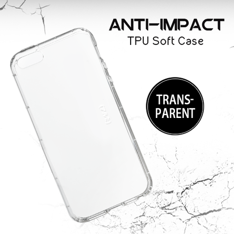 Transparent Anti-Impact TPU Soft Case for Iphone 8 | 8+ | 6 | 6S | 6+ | 6S+ | 7 | 7+