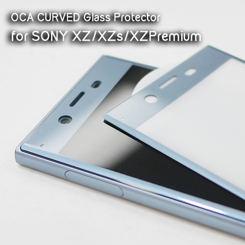 Sony Xperia OCA Curved Full Glass Protector for XZ Premium | XZ1 | XZ1 Compact | XZ | XZS