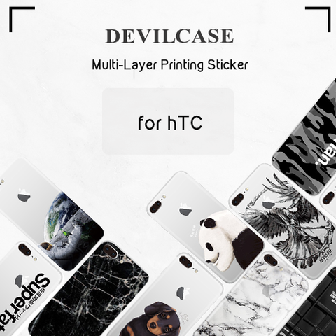 Multi-Layer Printing Back Sticker for HTC