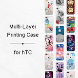Anti-Impact Plastic Case for HTC