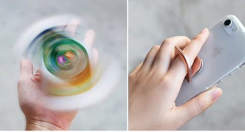 Spin Ring Phone Holder