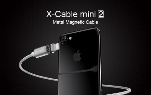 WSKEN X-Cable Mini 2 for Micro USB | Lightning | Type C Magnetic Charging Cable