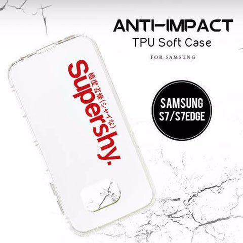 Anti-Impact TPU Soft Case for Samsung Galaxy S7 | S7 Edge | Note 5 (Series 1) - Devilcase Philippines