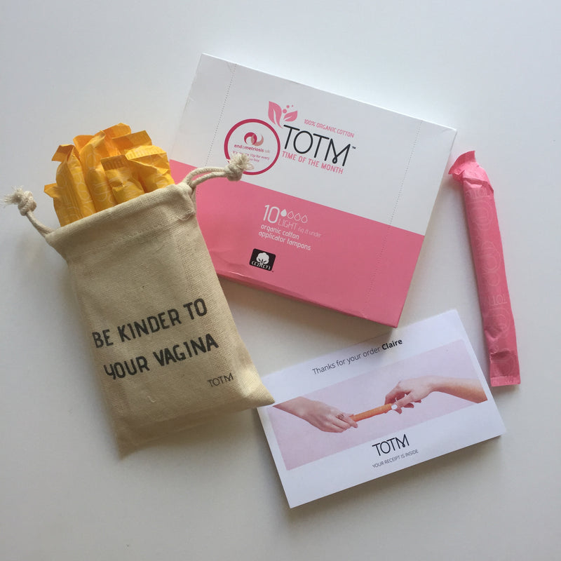 TOTM Organic Tampons - Review