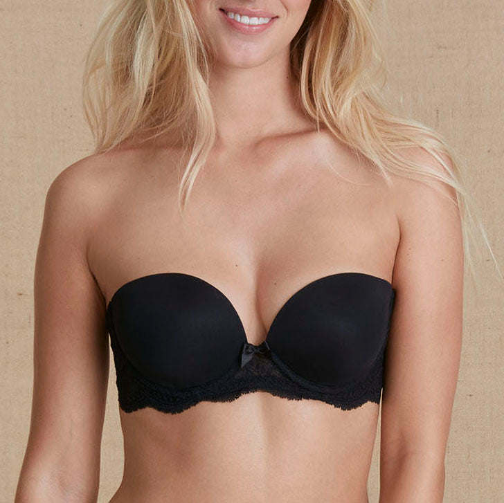 Simone Pérèle Eden Chic strapless bra Cup C - E 12E302 030 | SHEEN UNCOVERED