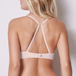 Delice Push Up T-Shirt Bra Poudre Blush