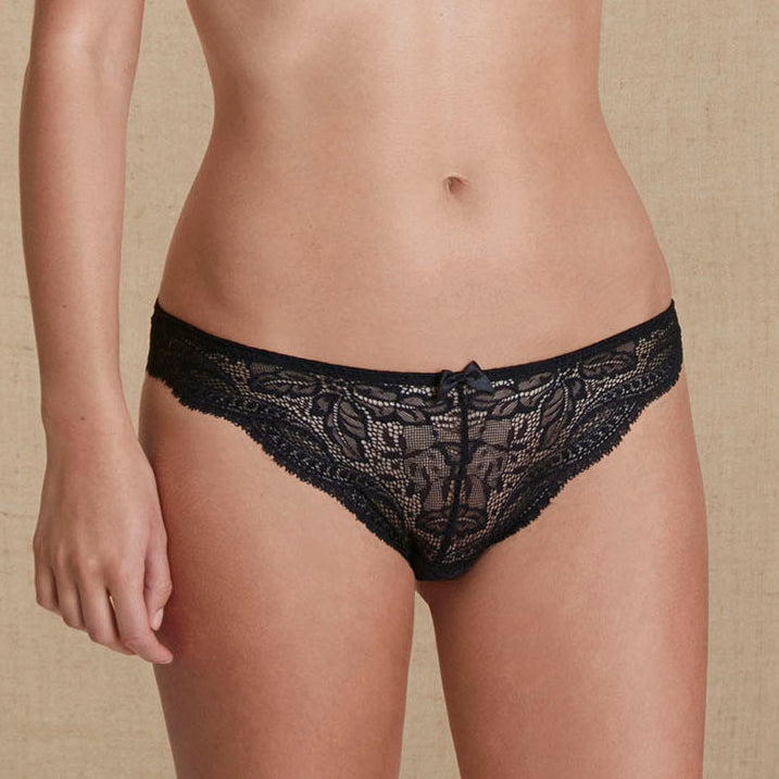 Eden thong Black