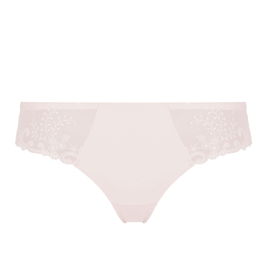 Simone Perele Délice thong Poudre Blush 12X700 383 | SHEEN UNCOVERED