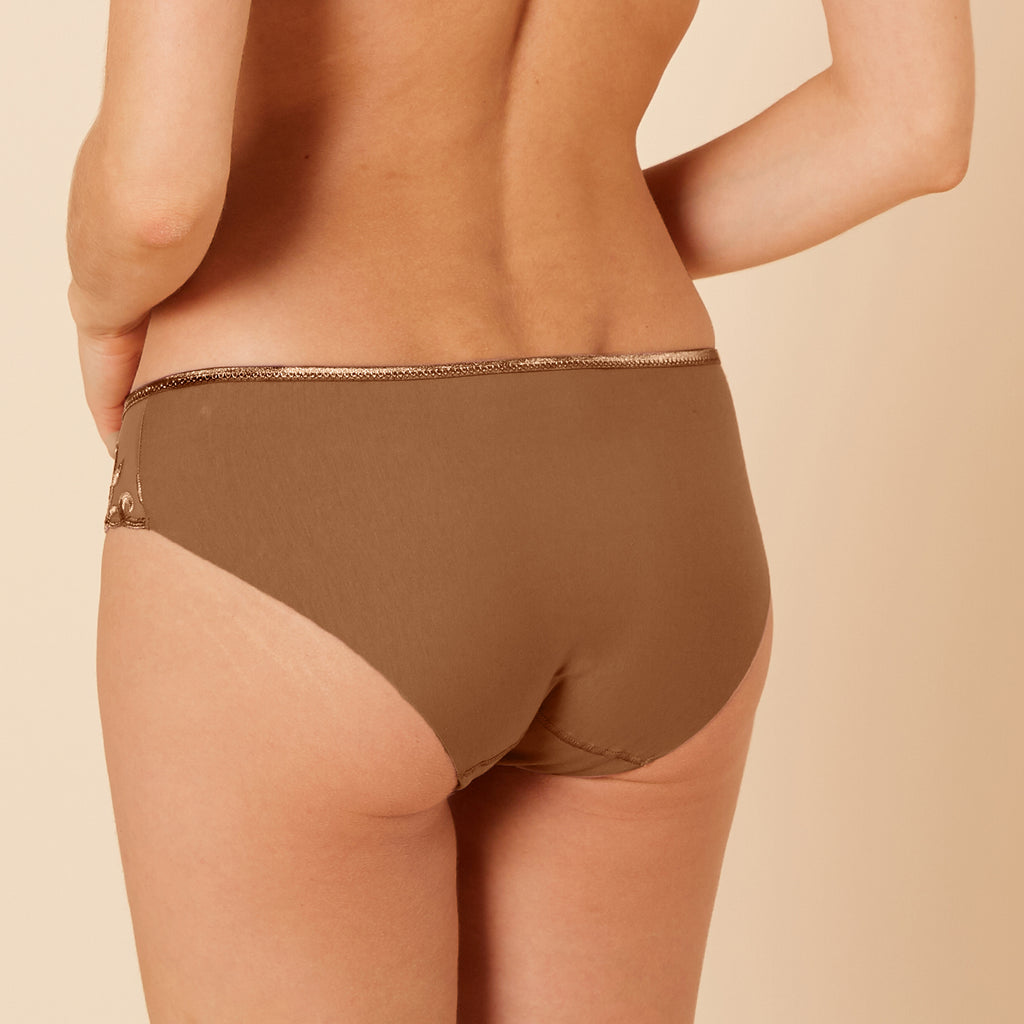 Andora Cotton Brief Amaretto