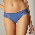 Andora Denim Blue Cotton Brief