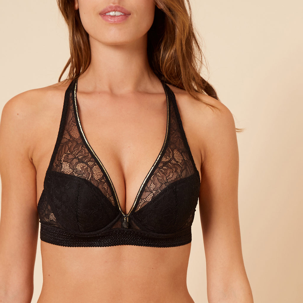 Simone Pérèle After Work triangle plunge bra Cup B-D | SHEEN UNCOVERED