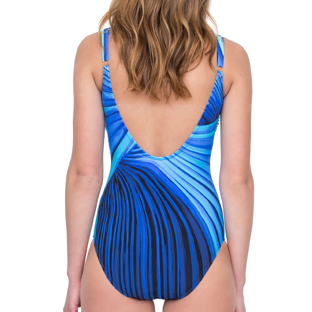 Gottex Northern Lights Swimsuit Blue 19NL158 | SHEEN UNCOVERED