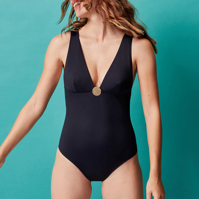 Simone Pérèle Moon Wireless Swimsuit 1BRB10 | SHEEN UNCOVERED, black