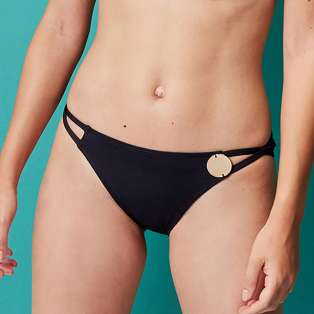 Simone Pérèle Moon Classic Bikini Bottom 1BRB71 135 | SHEEN UNCOVERED, black