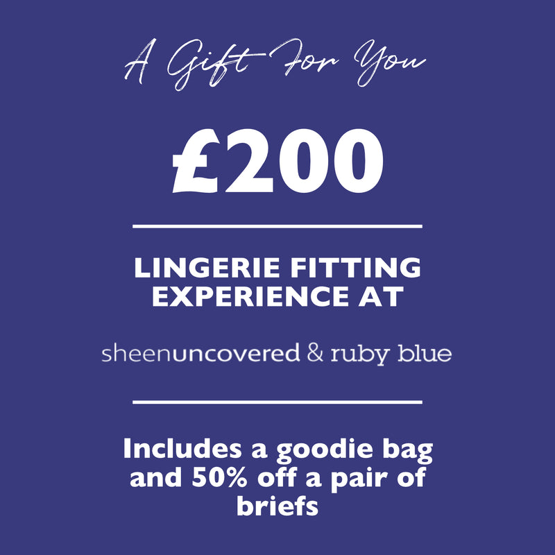 £200 Lingerie Fitting Experience