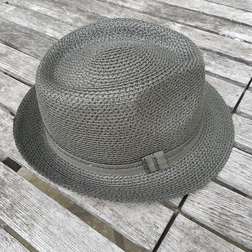 Trilby With Grossgrain Detail